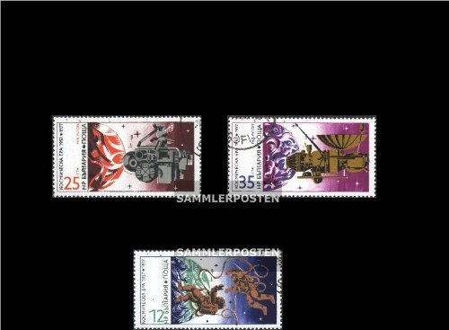 Bulgaria 2633-2635 (complete.issue.) 1977 Space (Stamps for collectors)