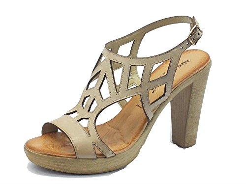 Mercante di Fiori sandali per in pelle tacco alto