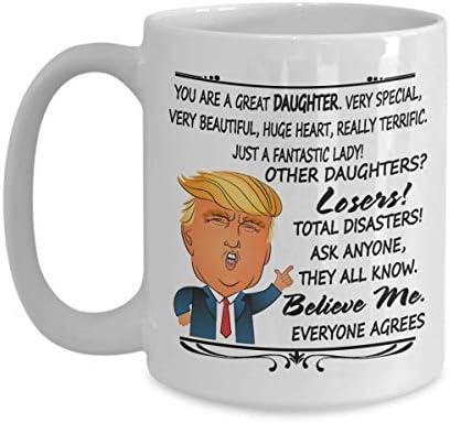 Gift For Great GRAMPY Trump Mug Birthday Christmas Day Family Funny Maga