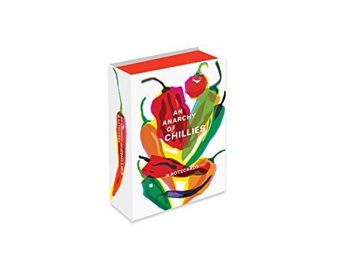 An Anarchy of Chilies Notecards (Thames & Hudson Gift) by Caz Hildebrand