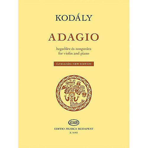 Adagio for Violin and Piano (New Edition) EMB Series Softcover Pack of 2
