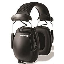 Howard Leight 1030110 Sync Noise-Blocking Stereo Earmuff (Black)