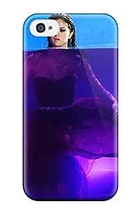 premium Phone Case For Iphone 4/4s/ Selena Gomez Tpu Case Cover