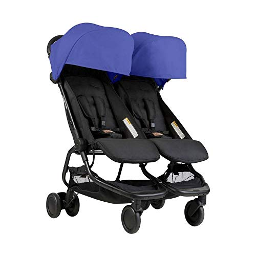 Mountain Buggy Nano Duo Buggy, Nautical ()
