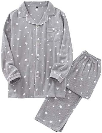 パジャマ レディース 綿100% 前開き ダブルガーゼ生地 ルームウェア 上下セット 長袖 ロングパンツ 可愛い 吸汗速乾 肌にやさしい 薄手 春夏秋冬 女性
