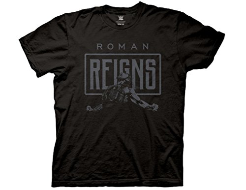 Ripple Junction WWE Roman Reigns Primal Scream Adult T-Shirt Large (Roman Tee T-shirt)