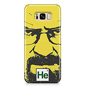 Samsung S8 Case breaking Bad Case HEISENBERG Tv Show Samsung Samsung S8 Cover Wrap AroundLight weight and tough case
