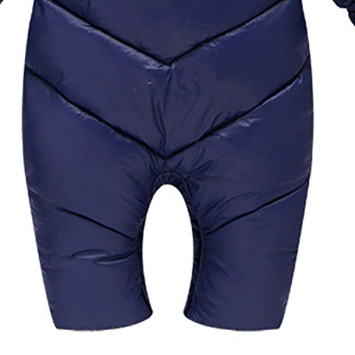 Baby Snowsuit Jumpsuit Thick Infant Romper Winter Outerwear Newborn Blue Hooded Happy Coat Cherry qtwSn5