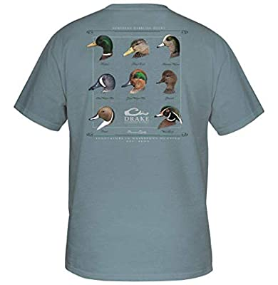 Drake Youth Puddle Duck Collection Short Sleeve T-Shirt - Ice Blue