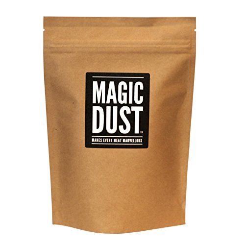Magic Dust - All Purpose Seasoning & BBQ Rub -'Makes Every Meat Marvellous' - Large Pack (225g)
