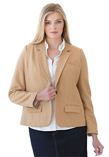 Jessica-London-Womens-Plus-Size-Fitted-Wool-Blazer