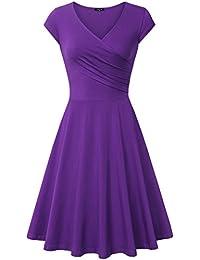 Image result for purple dress
