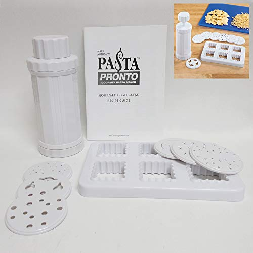 Pasta Pronto Gourmet Noodle and Ravioli Maker Machine As Seen On TV Italian Food by PASTA PRONTO