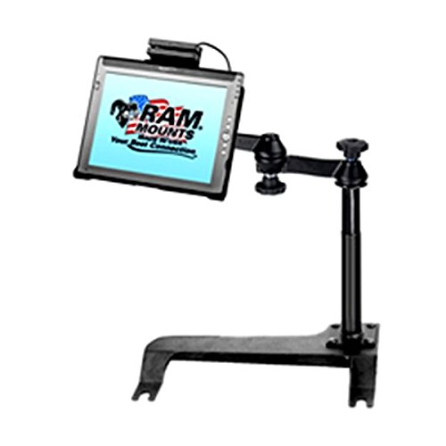 RAM Mounts (RAM-VB-131-MOT8) No-Drill Vehicle Laptop Mount for the Chrysler Aspen and Dodge Durango. Swing Arm Connects to Cradle for the Motion Le1600, Le1600Ts, and Le1700. by RAM MOUNTS