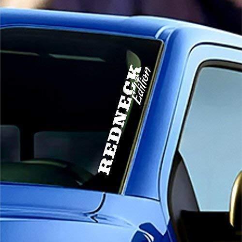 Redneck Edition Windshield Sticker Banner Vinyl Decal Car Truck Bumper Sticker