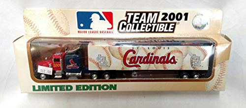 (St. Louis Cardinals 2001 Limited Edition Die Cast Tractor Trailer Collectible)