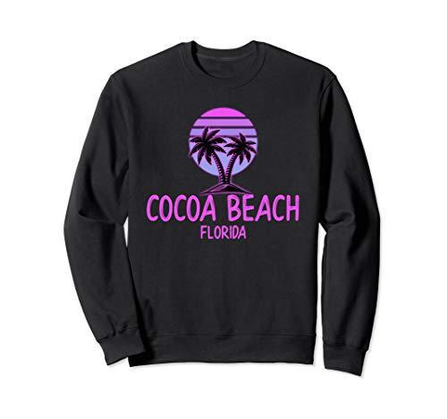 - Cocoa Beach Florida Vintage Retro Sweatshirt 70s Throwback