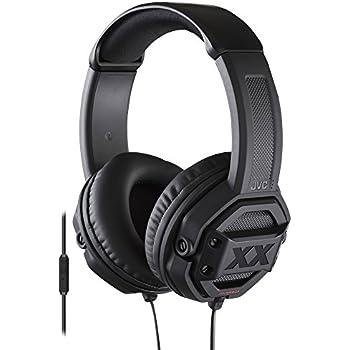 JVC HAMR60X XX Xtreme Bass Headset, Black