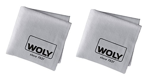 Really Bag Leather (2 Woly Polishing Cloth. Professional Shine Cloth for Polishing Your Shoes, Boots, Handbags, Clothes for High-gloss Shine - Pack of 2.)