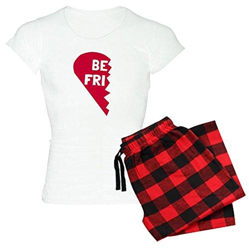 CafePress Best Friend - Womens Novelty Cotton Pajama Set, Comfortable PJ Sleepwear