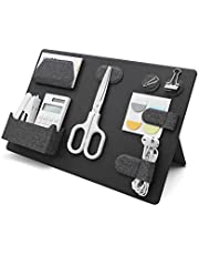 LHiDS Creative MagEasy Magnetic Modular Organizing Board, Fully-Customizable Desktop Organizer, Portable Office Organizer, Space-Saving Mesh Design for Home, Office and More (Obsidian Black)