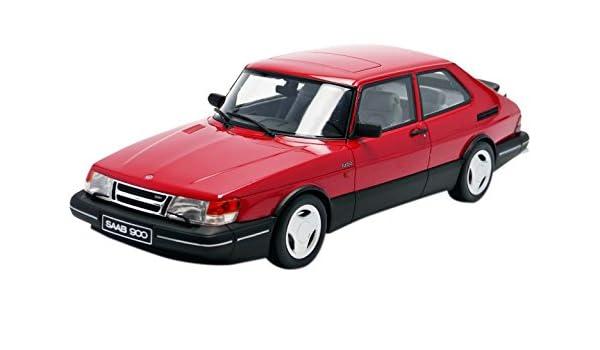 Amazon.com: Otto 1/18 Scale resin - OT181 Saab 900 Turbo Aero red: Toys & Games