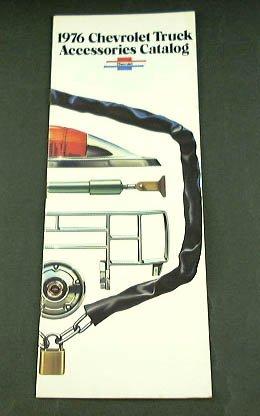 - 1976 76 Chevrolet CHEVY TRUCK ACCESSORIES BROCHURE
