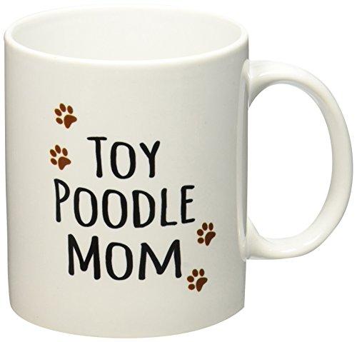 3dRose mug 154210 1 Poodle Ceramic 11 Ounce