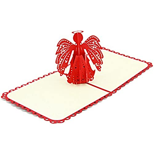 yepmax 3D Pop up Greeting Cards for Thanksgiving Birthday Anniversary Christmas Paper-cut Art Collection (Angle) Sales