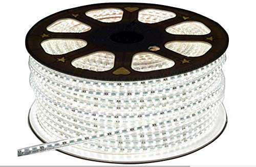 Mufasa 3014-108 Led Waterproof Strip Rope Pipe Light SMD Roll (108 Led/Mtr) (White, 5 Meter)