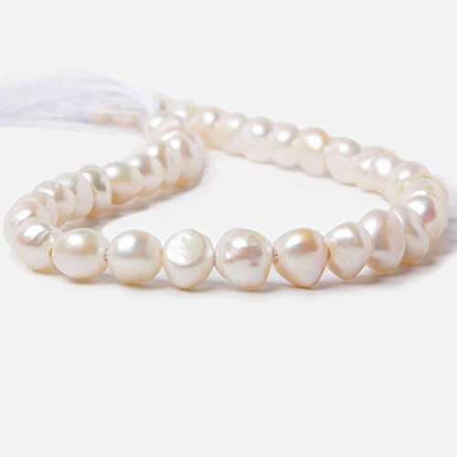 11mm-125mm-cream-large-hole-side-drilled-baroque-freshwater-pearl-38-pieces