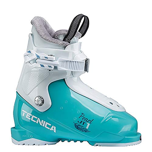 Tecnica JT 1 Pearl Girls Ski Boots 2020-14.5/Light Blue ()