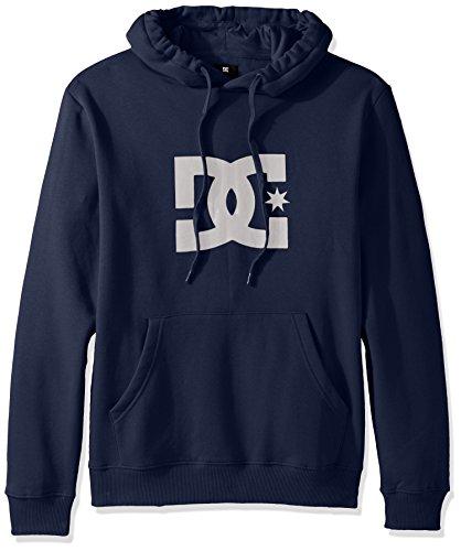 DC Men's Star Pullover Hoodie Sweatshirt, Summer Blues, Small Dc Star Pullover Hoodie