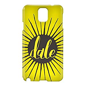 Loud Universe Samsung Galaxy Note 3 3D Wrap Around Dale Print Cover - Yellow