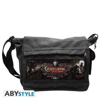 Castlevania - Mirror of Fate Umhänge-Tasche Messenger-Bag Big Größe Original & Lizensiert