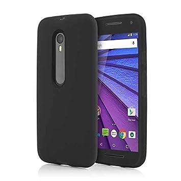 DEET® Moto G3 Funda - carcasa rígida de goma para Motorola ...