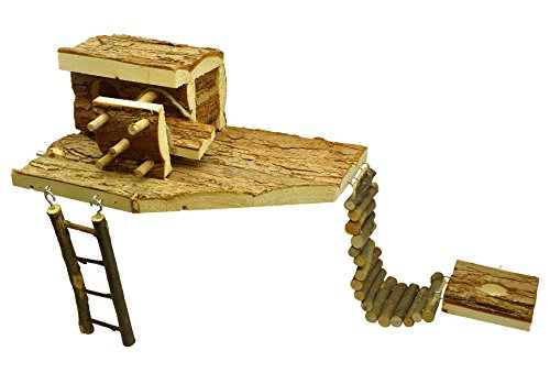 Niteangel Interactive Playground, Small Animal Loft by Niteangel