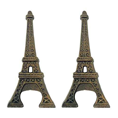 Design Toscano Eiffel Tower Cast Iron Bottle Opener: Set Of Two