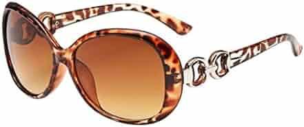 1031829e102a Limsea Hot Sale! Women Men Double Ring Decoration Shades Sunglasses  Integrated UV Glasses