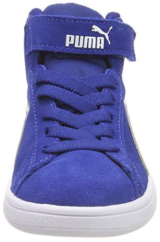 Azul Zapatillas Ps V V2 01 Smash gray Violet Puma Mid sodalite Unisex Blue Niños Altas FUzS1qWn