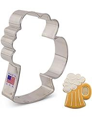 Beer Mug/Stein Cookie Cutter - 4.25 Inch - Ann Clark - US Tin Plated Steel