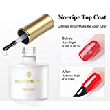 BORN PRETTY Base Coat Top Coat Set for UV LED Gel