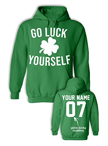 Go Luck Yourself St Patrick's Day Outfits - Funny St Paddys Day Shamrock -