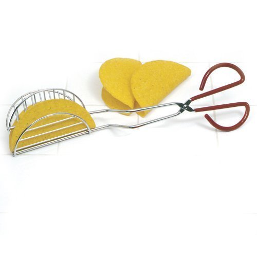 Norpro Taco Shell Maker Press Tortilla Fryer Tongs New