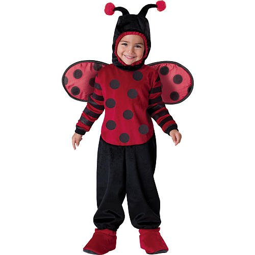 Itty Bitty Lady Bug Costume - Toddler Small ()