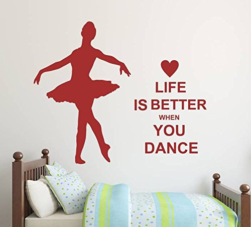 Obermy Quote wall stickers mural Art Wall Decal Removable Wallpaper Vinyl Sticker Life is better
