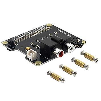 SODIAL Chip Pcm5122 Ti HiFi Dac Módulo de Tarjeta de Sonido ...