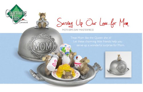 Charming Tails Serving Up Our Love For Mom Figurine 4020495