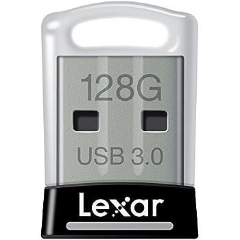 Lexar JumpDrive S45 128GB USB 3.0 Flash Drive - LJDS45-128ABNL (Black)