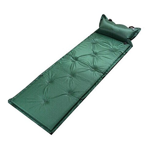 DSC-Mart Double Automatic Inflatable Picnic Damp Proof Filled Air Cushion